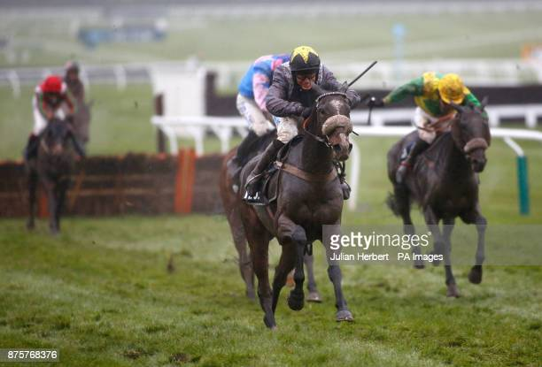 Thomas Campbell ridden by James Bowen wins The Regulatory Finance Solutions Handicap Hurdle Race run during day two of the November Meeting at...