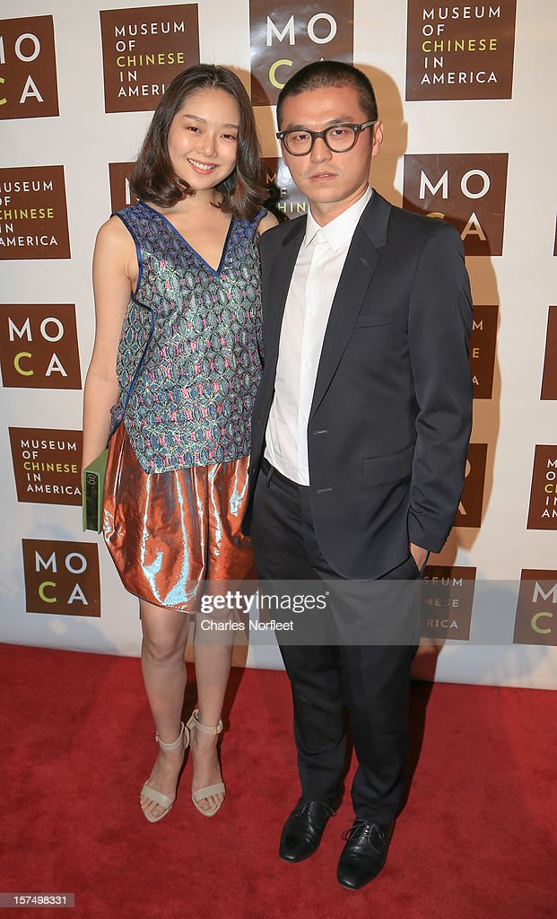 Thomas Chen and guest attend Museum Of Chinese in America's Annual Legacy Awards Dinner at Cipriani Wall Street on December 3, 2012 in New York City.