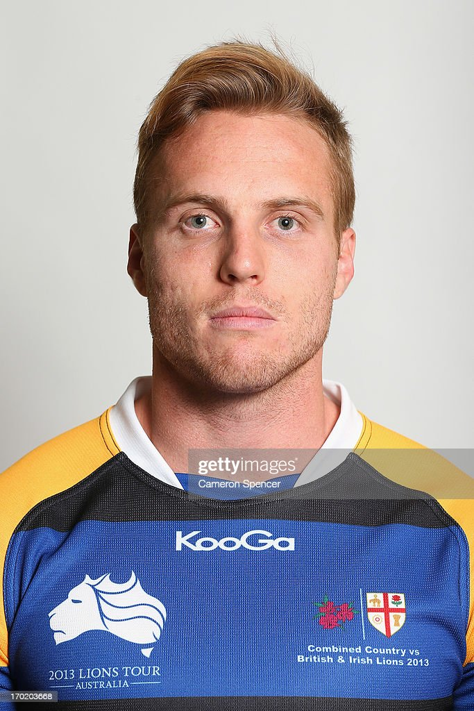 Thomas Cox of the Combined NSW/QLD Country team poses during a headshots session at The Crowne Plaza on June 9, 2013 in Newcastle, Australia.
