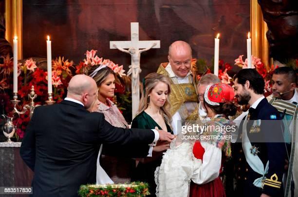 Thomas de Toledo Sommerlath princess Madeleine of Sweden Sara Hellqvist bishop Johan Dalman archbishop Anders Wejryd princess Sofia and prince Carl...