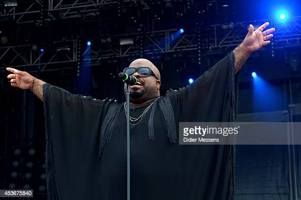 Thomas DeCarlo Callaway aka Cee Lo Green performs on stage at Sziget Festival on August 15 2014 in Budapest Hungary