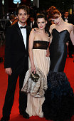 Thomas Dekker Roxane Mesquida and Nicole LaLiberte at the premiere of 'Kaboom' during the 63rd Cannes International Film Festival