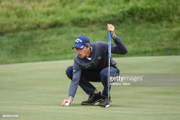 Thomas Detry during the day 2 of the HNA French Open on June 30 2017 in SaintQuentinenYvelines France