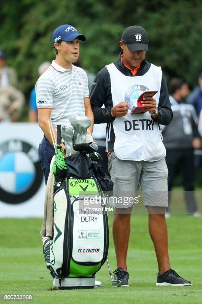 Thomas Detry of Belgium looks down the 10th hole during the final round of the BMW International Open at Golfclub Munchen Eichenried on June 25 2017...