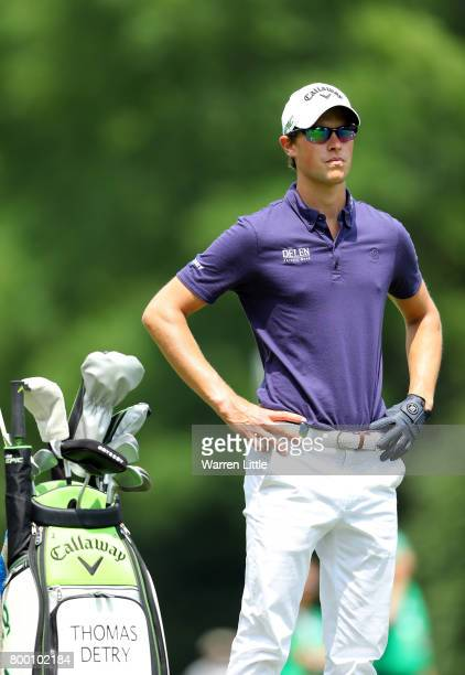 Thomas Detry of Belgium waits on the 10th hole during day two of the BMW International Open at Golfclub Munchen Eichenried on June 23 2017 in Munich...