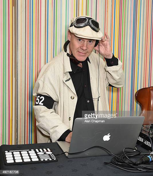 Thomas Dolby attends the after party of the UK Premiere of 'Live From New York' during the BFI London Film Festival at The Groucho Club on October 10...