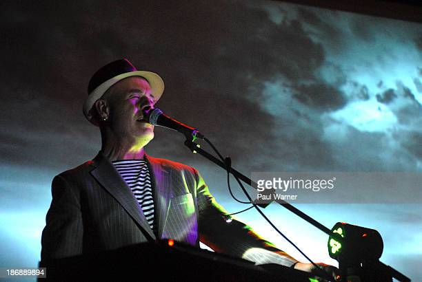 Thomas Dolby attends Thomas Dolby Presents Invisible Lighthouse at The Magic Bag on November 3 2013 in Ferndale Michigan