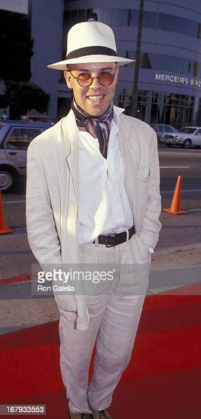 Thomas Dolby attends TJ Martell Foundation Benefit Party on May 18 1991 at the Racquet Club in Studio City California