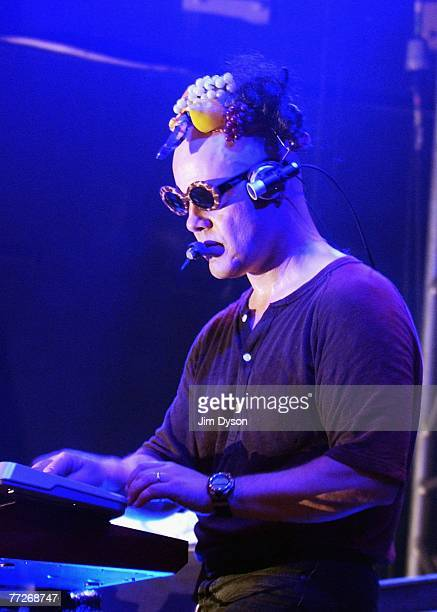 Thomas Dolby performs at the Islington Academy on October 10 2007 in London England