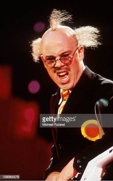 Thomas Dolby performs on stage at The Wall concert Berlin July 1990