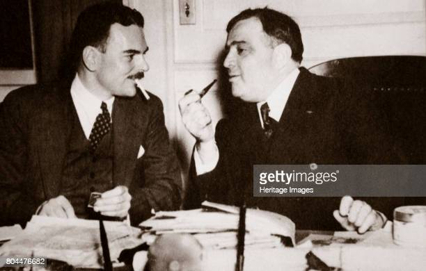 Thomas E Dewey with Fiorello H La Guardia Mayor of New York late 1930s Dewey was appointed Special Prosecutor to lead the fight against crime and...