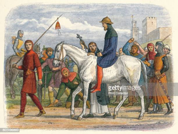 Thomas Earl of Lancaster led to execution' 1864 Thomas Earl of Leicester and Lancaster was an English nobleman convicted of treason and executed near...