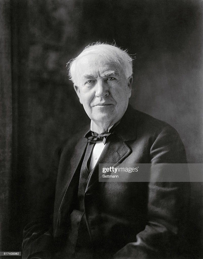 <a gi-track='captionPersonalityLinkClicked' href=/galleries/search?phrase=Thomas+Edison&family=editorial&specificpeople=69990 ng-click='$event.stopPropagation()'>Thomas Edison</a> (1847-1931), was a prolific inventor who was issued over 1,000 patents over his lifetime.