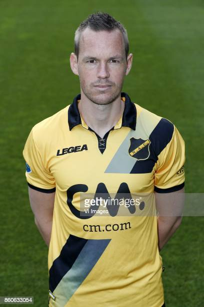 Thomas Enevoldsen of NAC Breda during the team presentation of NAC Breda on August 02 2017 at Autotaalglas trainingscentrum in Zundert The Netherlands