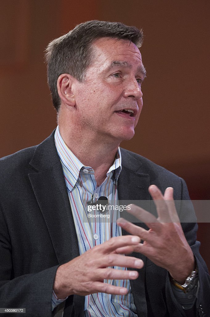 Thomas Erickson, chief executive officer of Acquia Inc., speaks at the Bloomberg Next Big Thing Summit in Sausalito, California, U.S., on Monday, June 9, 2014. The conference convenes tech's most important entrepreneurs, investors, and innovators for a discussion about what makes great tech leaders, successful companies, and disruptive products. Photographer: David Paul Morris/Bloomberg via Getty Images