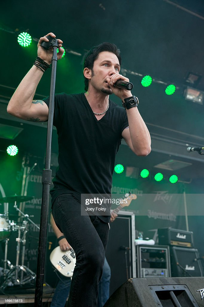 Thomas Flowers of Oleander performs during 2013 Rock On The Range at Columbus Crew Stadium on May 17, 2013 in Columbus, Ohio.