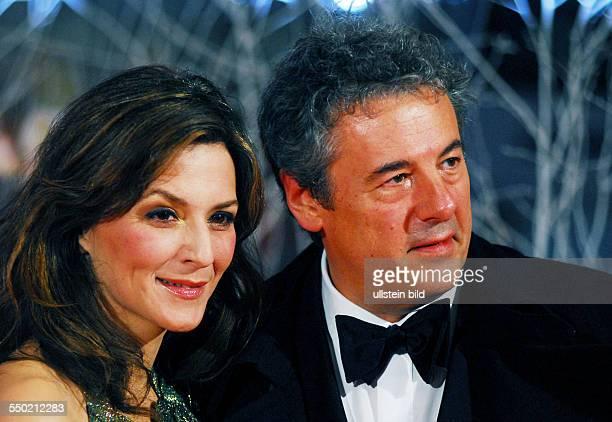 Thomas Friedl und Julia Wolf anlässlich der Eröffnung der 57 Internationalen Filmfestspiele in Berlin