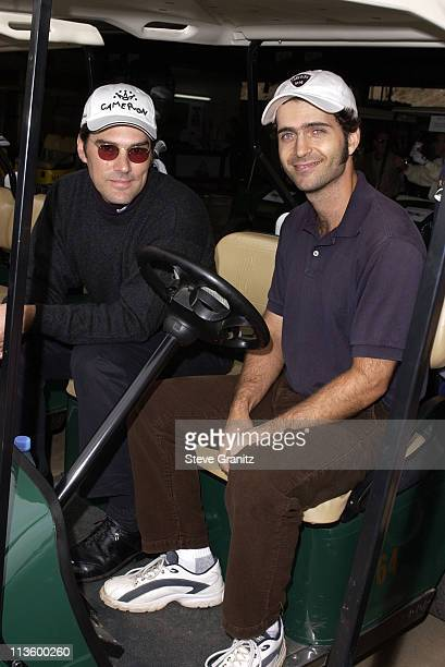 Thomas Gibson Dweezil Zappa during 4th Annual Elizabeth Glaser Pediatric AIDS Foundation Celebrity Golf Classic Sponsored By Mossimo MercedesBenz at...