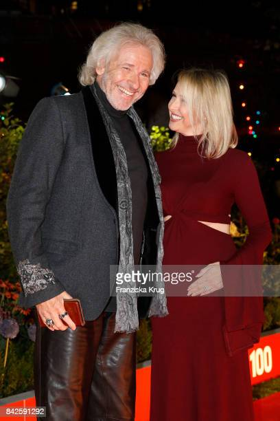 Thomas Gottschalk and his daughter in law Melissa attend the BILD100 event at Axel Springer Haus on September 4 2017 in Berlin Germany