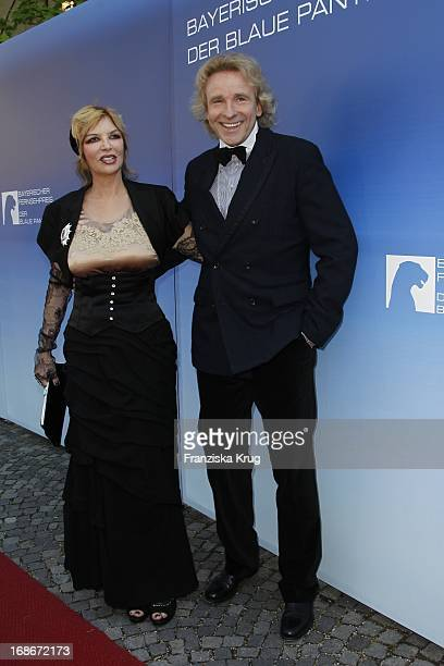 Thomas Gottschalk and his wife Thea at The Bavarian Television Award at Prinzregententheater in Munich