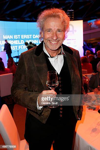 Thomas Gottschalk attends the Querdenker Award 2015 at BMW World on November 25 2015 in Munich Germany