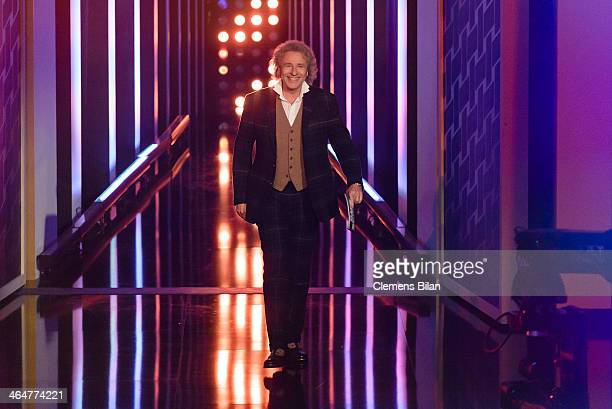 Thomas Gottschalk attends the taping of 'Back To School Gottschalks grosses Klassentreffen' Show on January 23 2014 in Berlin Germany