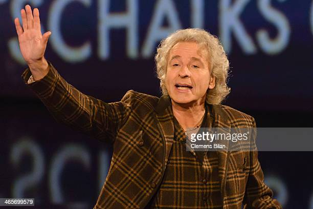Thomas Gottschalk attends the taping of 'Back To School Gottschalks grosses Klassentreffen' Show on January 28 2014 in Berlin Germany