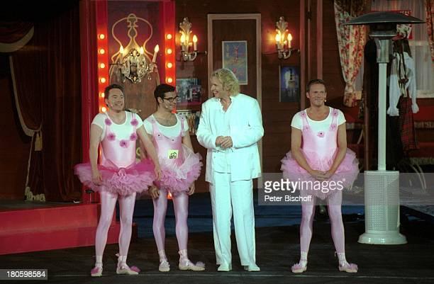Thomas Gottschalk Michael 'Bully' Herbig Rick Kavanian Christian Tramitz ZDFShow 'Wetten dass ' Paris/Frankreich 'DisneylandParis' 'Walt...