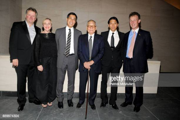 Thomas Guss Michele Conte Li Chung Pei IM Pei Robbie Antonio and William Jeffcock attend AMERICAN FRIENDS OF THE LOUVRE's Young Patrons Circle Soiree...
