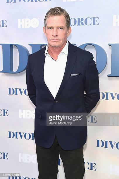 Thomas Haden Church attends the 'Divorce' New York Premiere at SVA Theater on October 4 2016 in New York City