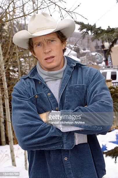 Thomas Haden Church director / actor during 2003 Sundance Film Festival 'Rolling Kansas' Outdoor Portraits at Main Street Park City in Park City Utah...