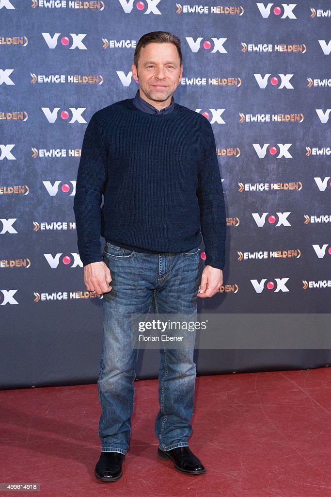 <a gi-track='captionPersonalityLinkClicked' href=/galleries/search?phrase=Thomas+Haessler&family=editorial&specificpeople=786841 ng-click='$event.stopPropagation()'>Thomas Haessler</a> attends a photo call for the new tv show 'Ewige Helden' on December 2, 2015 in Cologne, Germany.