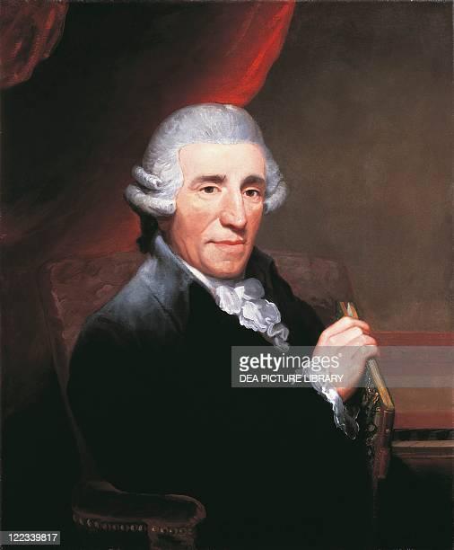 Thomas Hardy Portrait of Franz Joseph Haydn Austrian composer