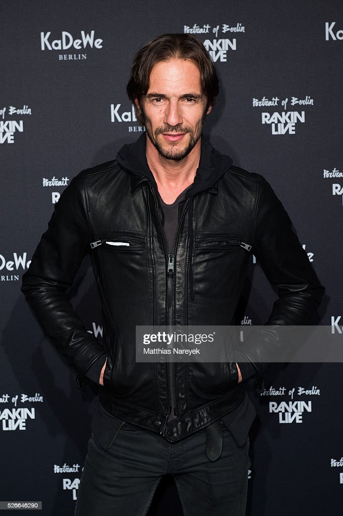 Thomas Hayo attends the Rankin Live x KaDeWe event at KaDeWe on April 30, 2016 in Berlin, Germany.