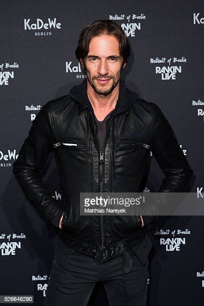 Thomas Hayo attends the Rankin Live x KaDeWe event at KaDeWe on April 30 2016 in Berlin Germany