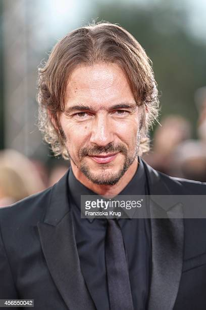 Thomas Hayo attends the red carpet of the Deutscher Fernsehpreis 2014 on October 02 2014 in Cologne Germany