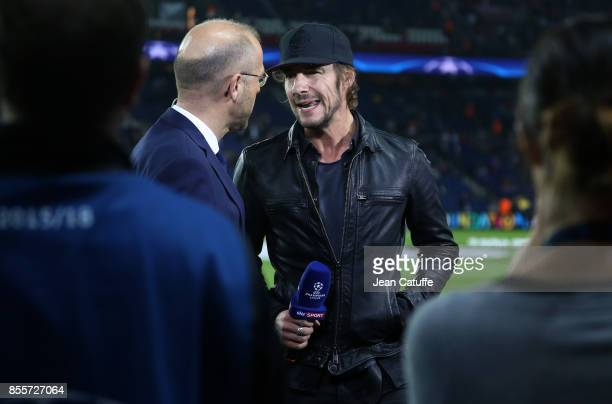 Thomas Hayo during the UEFA Champions League group B match between Paris SaintGermain and Bayern Muenchen at Parc des Princes on September 27 2017 in...