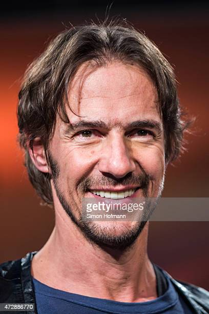 Thomas Hayo poses during a photo call for the tv show 'Germany's Next Topmodel' on May 10 2015 in Heidelberg Germany The final of the 10th GNTM...