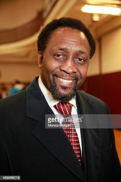 Thomas Hearns attends the All Star Giveback Thanksgiving Edition on November 25 2014 in River Rouge Michigan