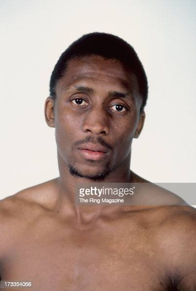 Thomas Hearns poses for a portrait in New York