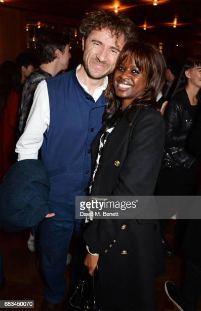 Thomas Heatherwick and June Sarpong attend '8 Years Of My Life' an intimate evening of music with Rosey Chan hosted by Rosey Chan and Client Earth at...