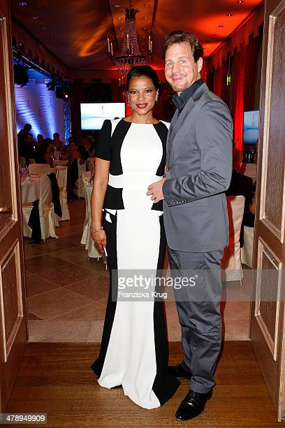 Thomas Heinze and Jackie Brown attend the Gala Spa Awards 2014 at Brenners Parkhotel BadenBaden on March 15 2014 in BadenBaden Germany