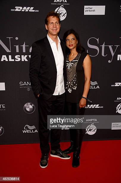 Thomas Heinze and Jackie Brown attend the Michalsky Style Night at Tempodrom on July 11 2014 in Berlin Germany