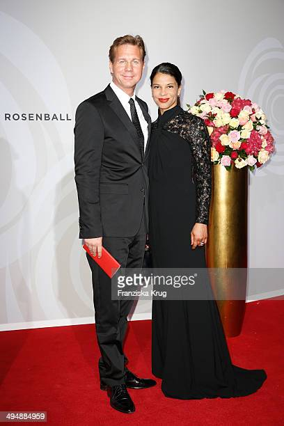 Thomas Heinze and Jackie Brown attend the Rosenball 2014 on May 31 2014 in Berlin Germany