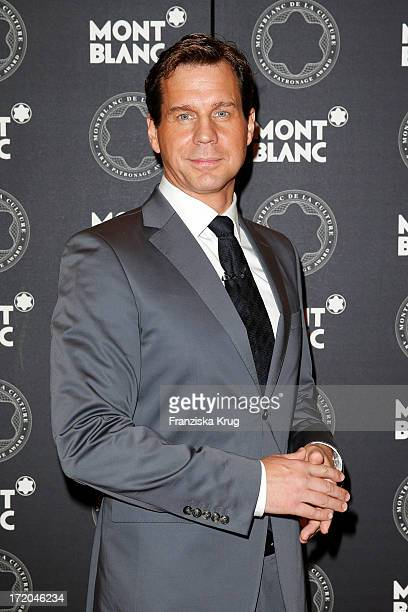 Thomas Heinze attends the Montblanc De La Culture Arts Patronage Award 2013 at Hotel De Rome on July 01 2013 in MUNICH Germany