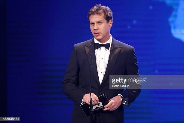 Thomas Heinze is seen on stage at the GQ Men Of The Year Award 2014 at Komische Oper on November 6 2014 in Berlin Germany