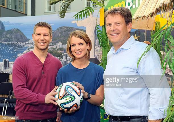 Thomas Hitzlsperger als WMExperte im ZDFMorgenmagazin Ab Dienstag 10 Juni 2014 wird der 52fache Nationalspieler gemeinsam mit den Moderatoren Jessy...