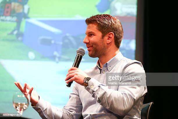 Thomas Hitzlsperger attends the '11 Freunde Jahresrueckblick' at Gloria on December 15 2014 in Cologne Germany