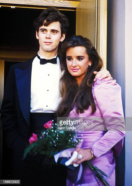 C Thomas Howell and Kyle Richards at the Wedding of Kim Richards G Monty Brinson Beverly Hilton Hotel Beverly Hills