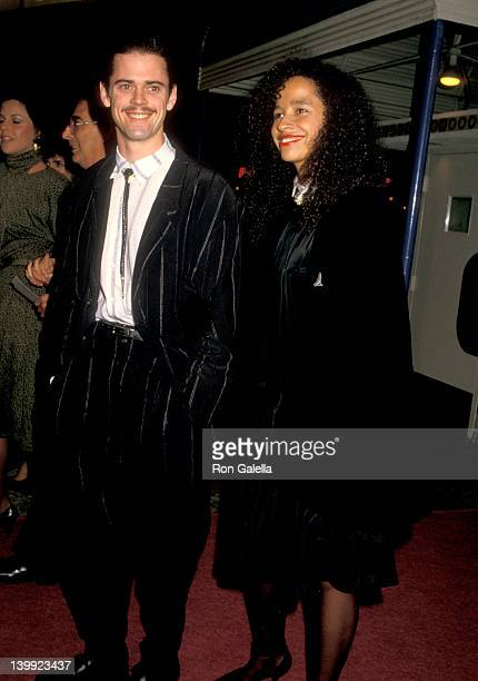 C Thomas Howell and Rae Dawn Chong at the Premiere of 'Empire of the Sun' Mann Village Theatre Westwood
